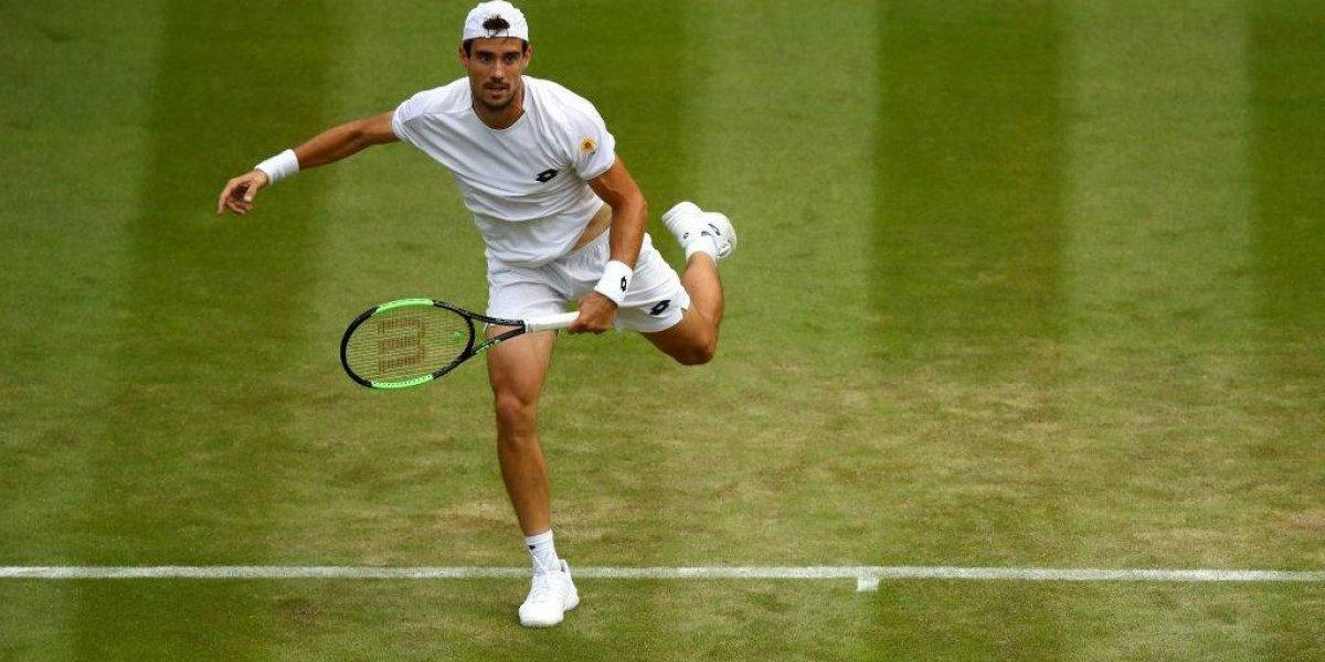 El argentino Pella dio el máximo batacazo en Wimbledon tras eliminar a Marin Cilic