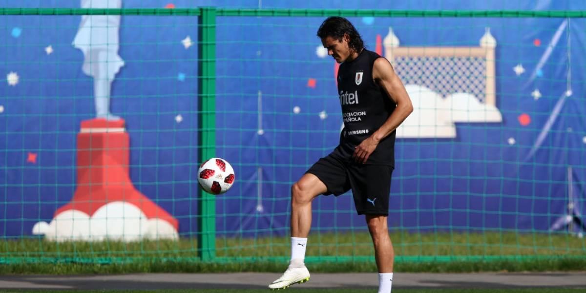 Uruguay desafía a Francia con Cavani en duda