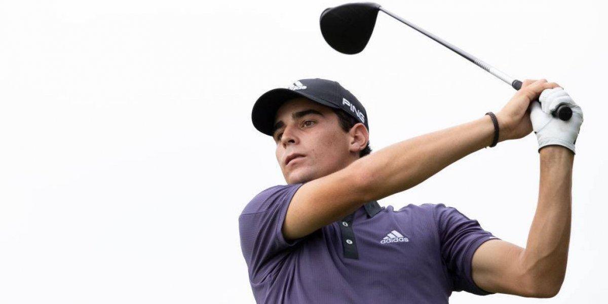 """Joaquín Niemann fue nominado al premio """"Novato del año"""" del PGA Tour"""
