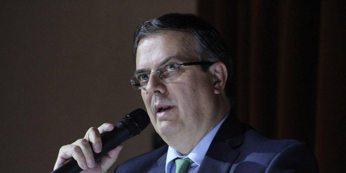 Ebrard sustituye a Héctor Vasconcelos en el gabinete de AMLO