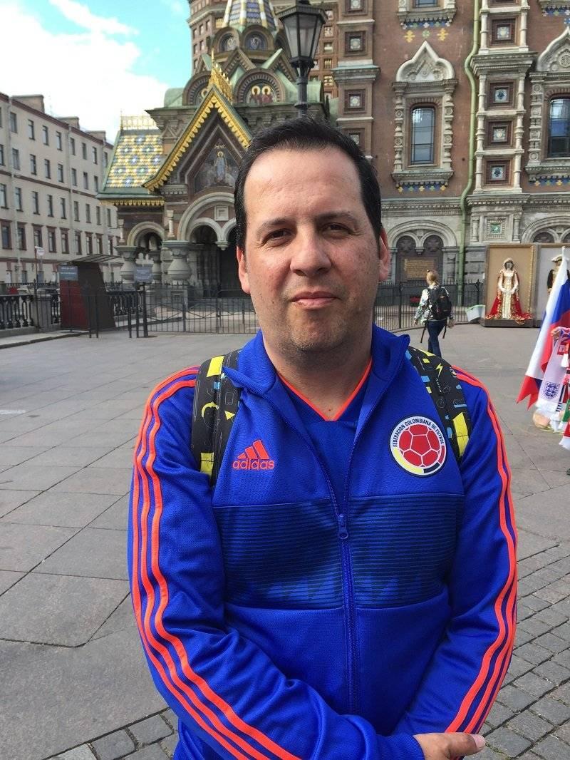 Álvaro Díaz, diseñador colombiano de 45 años.