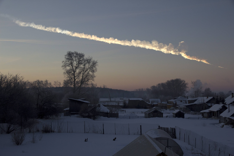 El trayecto del asteroide de 20 metros