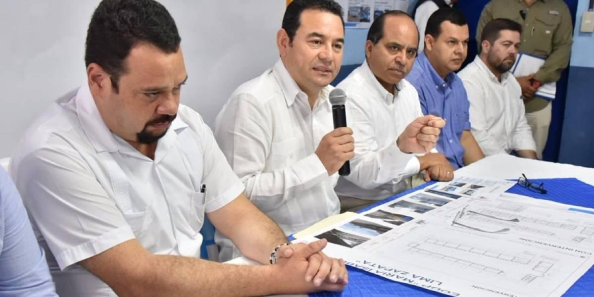 """""""No le hagamos caso a los rumores"""", dijo el presidente Morales en su visita a Jalapa"""