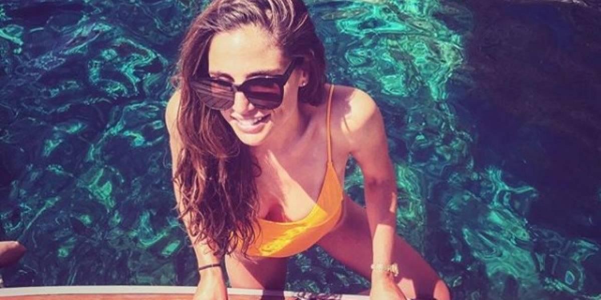 Lucía Villalón volvió a encontrar el amor en un jugador del Real Madrid