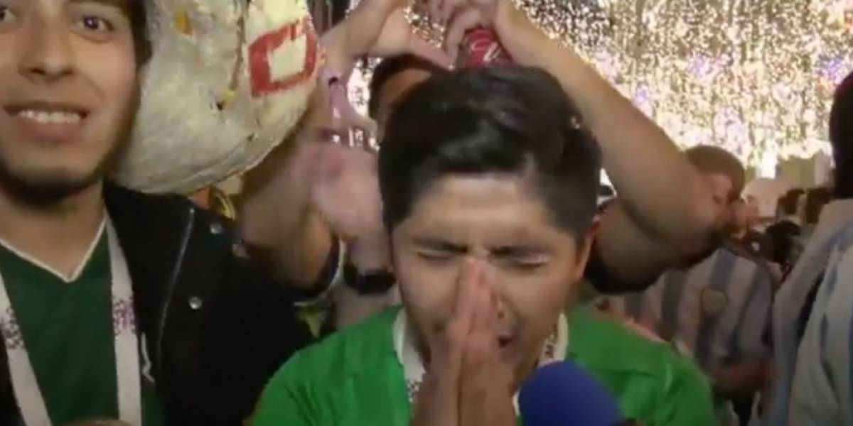 VIDEO: Mexicano pide a su novia que no lo deje, tras escaparse al Mundial