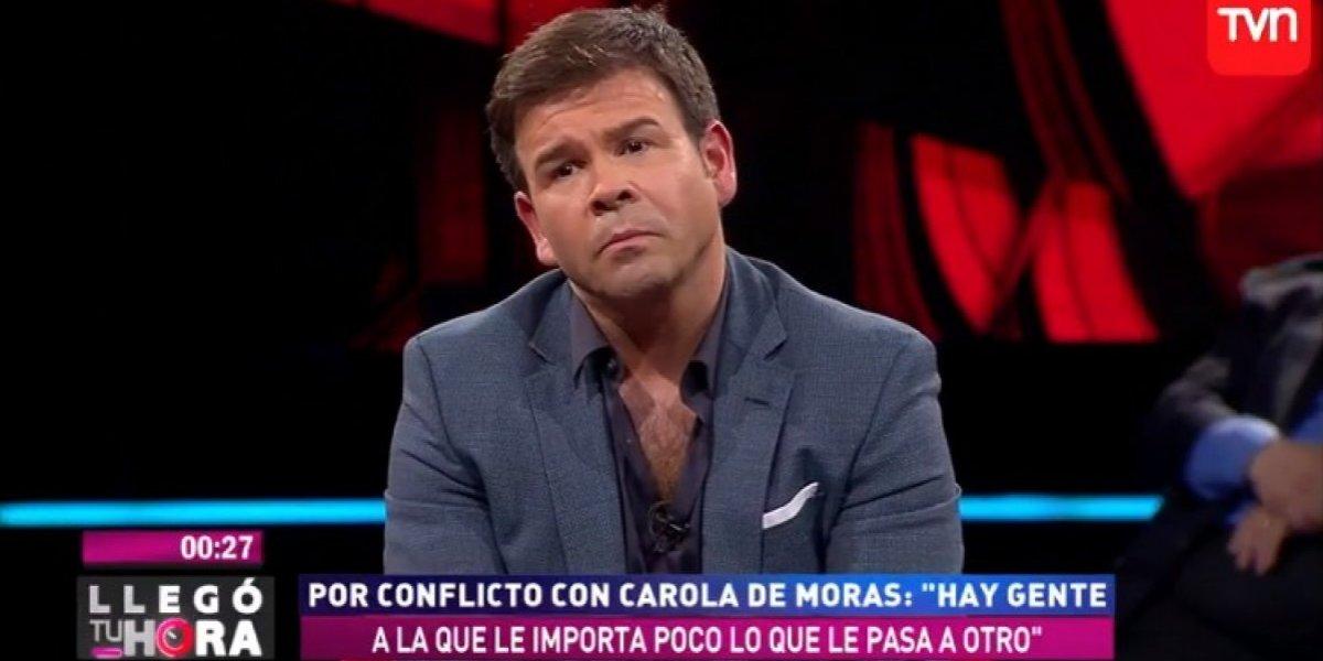 """Nacho Gutiérrez ya no puede ver a Carola de Moras: """"No la quiero cerca de mí ni hoy, ni mañana, ni nunca"""""""