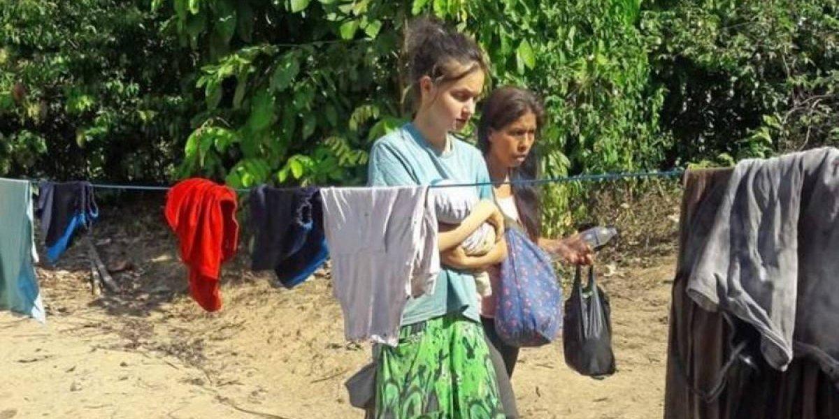 Rodeada de narcos y con un bebé:  Así encontraron a joven reclutada por una peligrosa  secta satánica peruana