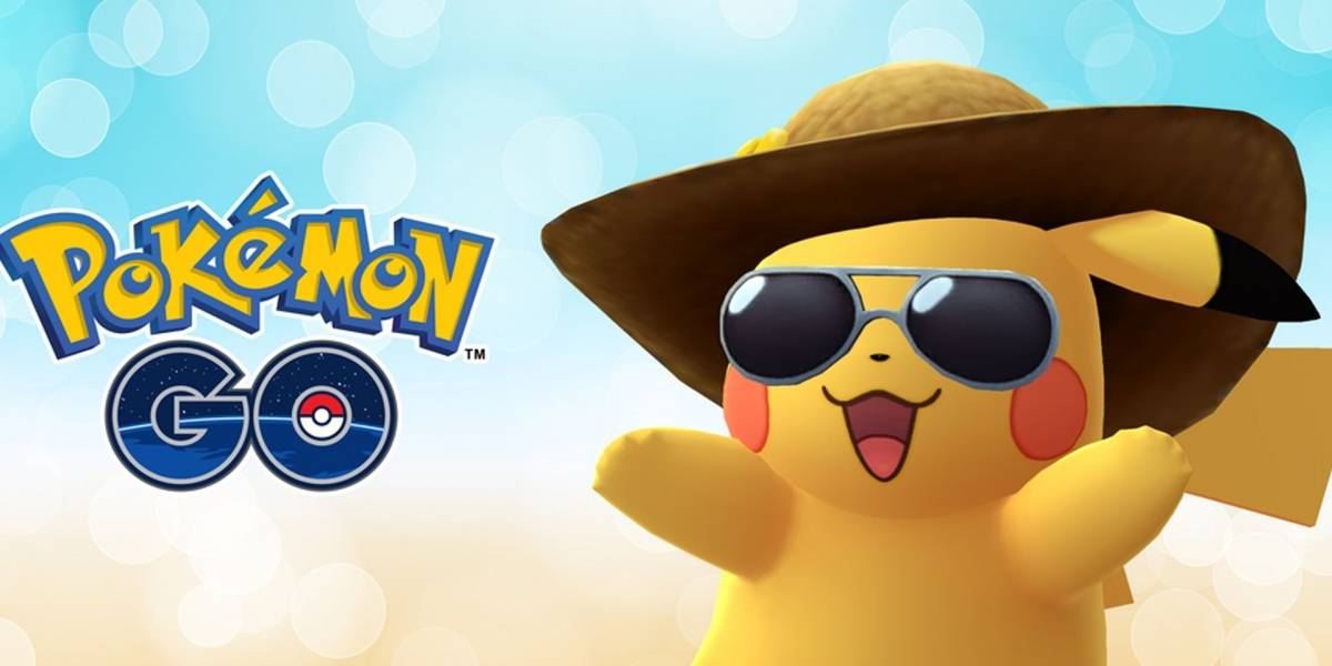 Pokémon GO celebra su segundo aniversario con una versión veraniega de Pikachu