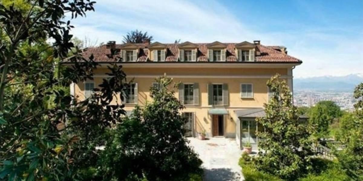 La mansión en la que viviría Cristiano Ronaldo en Turín