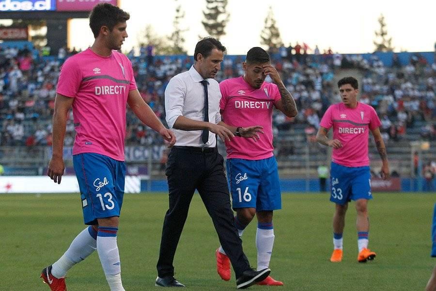Beñat San José, hoy DT de la UC, inició su carrera como entrenador en las inferiores de la Real Sociedad. Ahí dirigió a Álvaro Odriozola, hoy fichaje del Real Madrid / Foto: Photosport