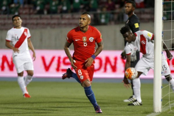 Chile enfrentará a Perú en Lima / imagen: Photosport