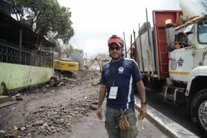 Roberto Crespo, rescatista internacional