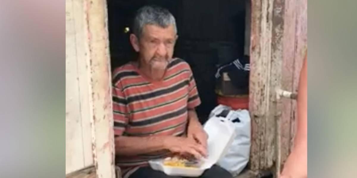 Solicitan ayuda para anciano en Adjuntas