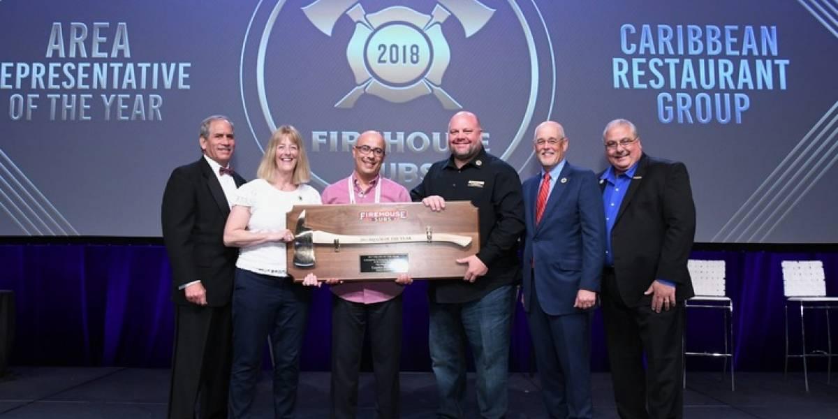 Firehouse Subs Puerto Rico recibe prestigioso premio