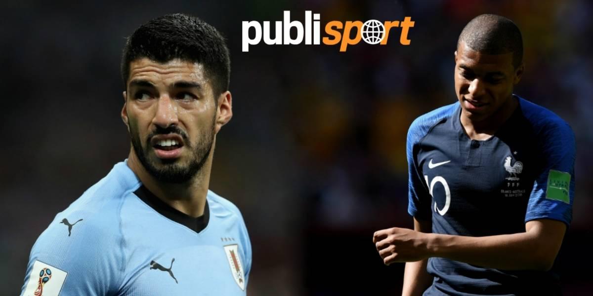 Uruguay vs. Francia, ¿dónde y a qué hora ver el partido?