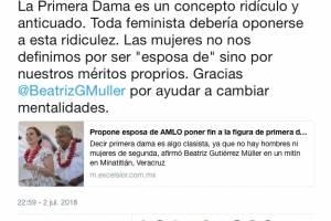 Tuit de hija de Rafael Correa