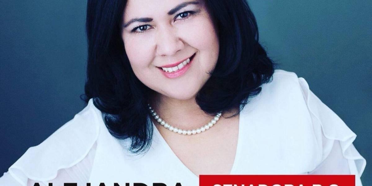 Senadora electa por el partido de López Obrador protagoniza escándalo