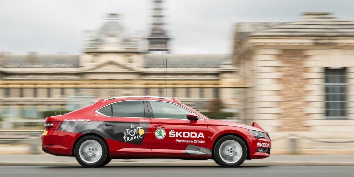 Skoda será nuevamente el partner del Tour de Francia