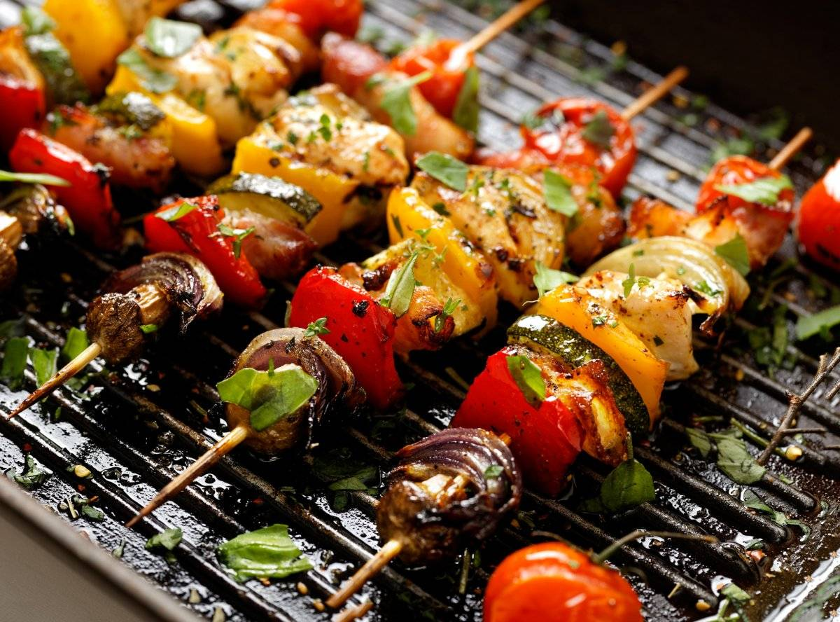vegetables grill