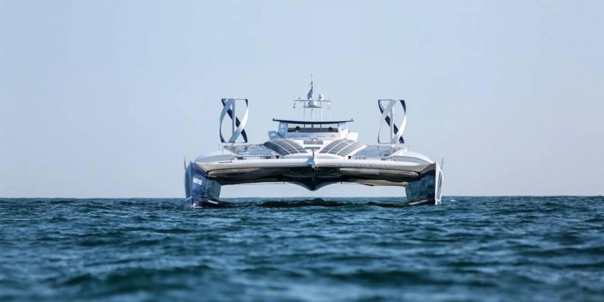 Energy Observer es el primer barco impulsado por hidrógeno en el mundo