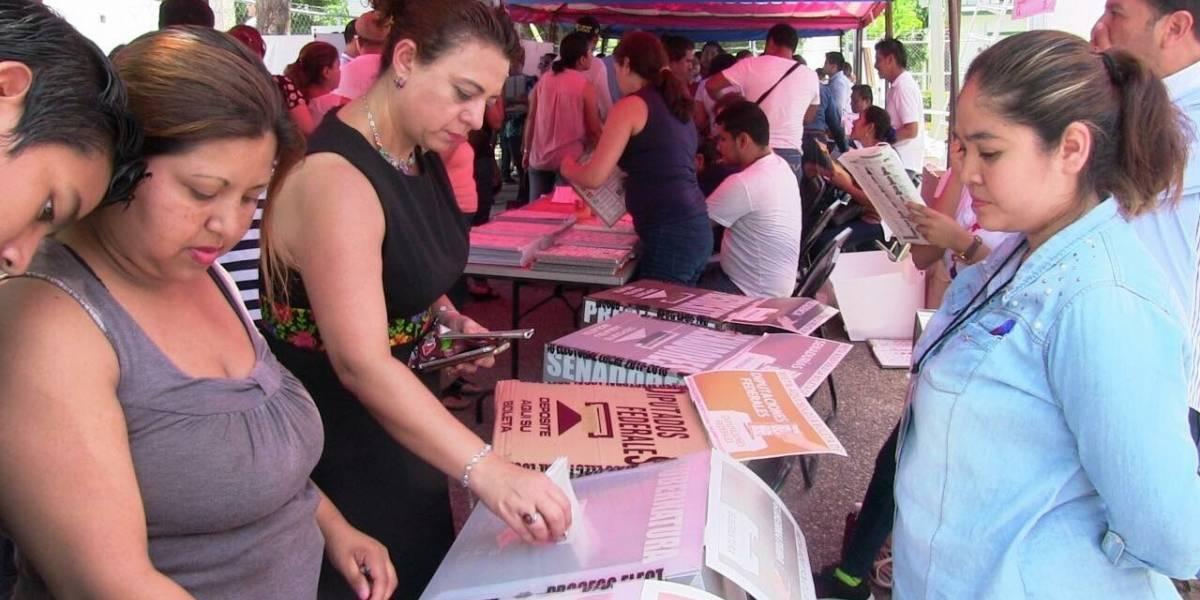 En Chiapas avanza el conteo de votos en los consejos municipales