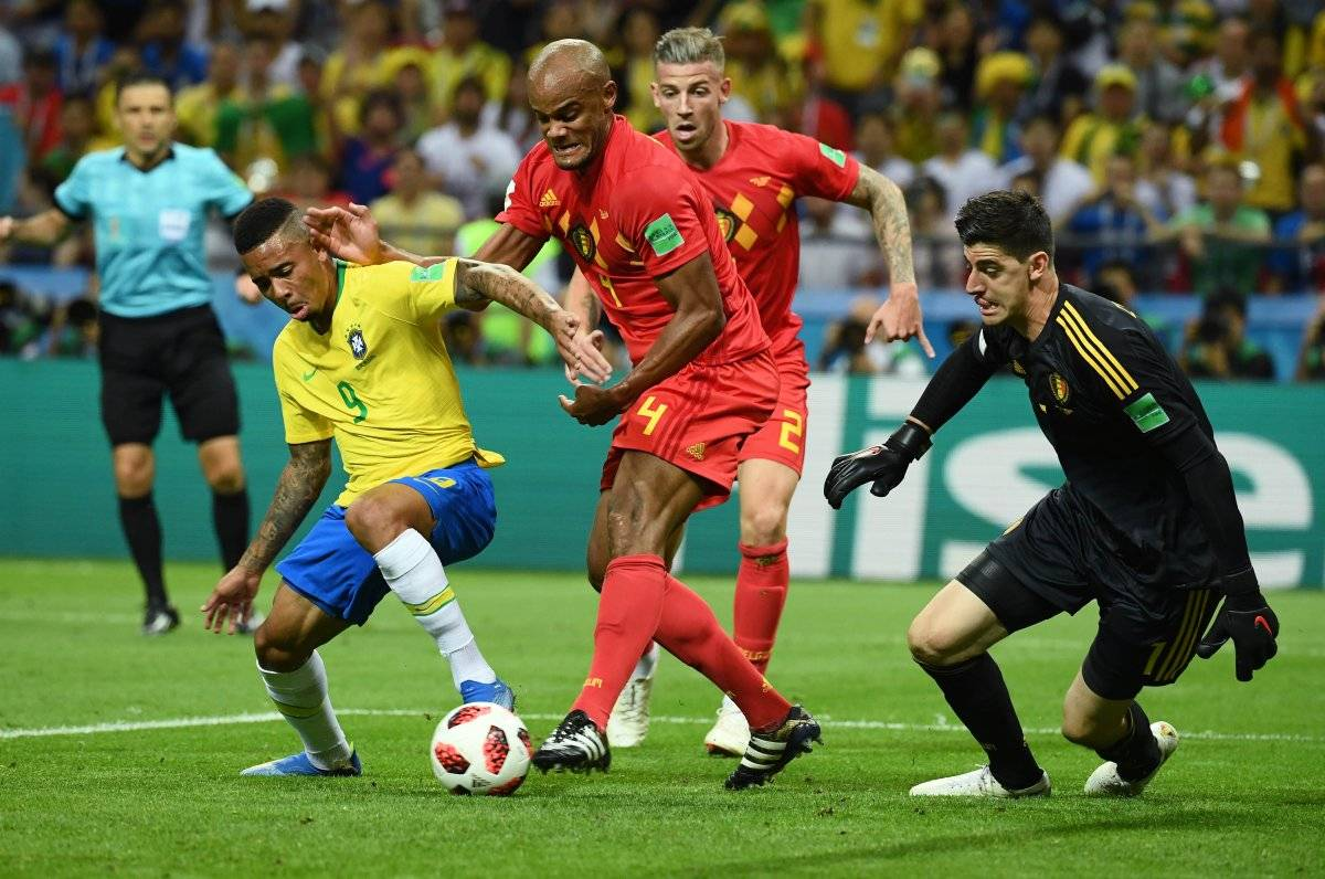 Gabriel Jesus no pudo marcar en su primer Mundial