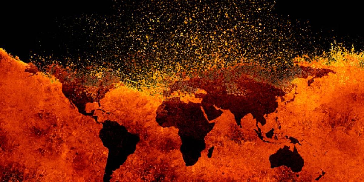 """Hombre asegura que viene del futuro y revela """"impactantes"""" imágenes de cómo se ve el mundo el año 2120 por culpa del calentamiento global"""