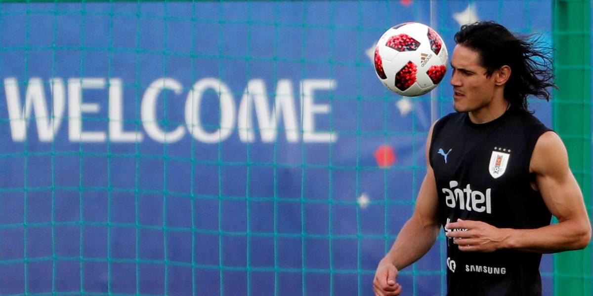 Cavani fica fora de time titular do Uruguai contra França; Stuani será o substituto