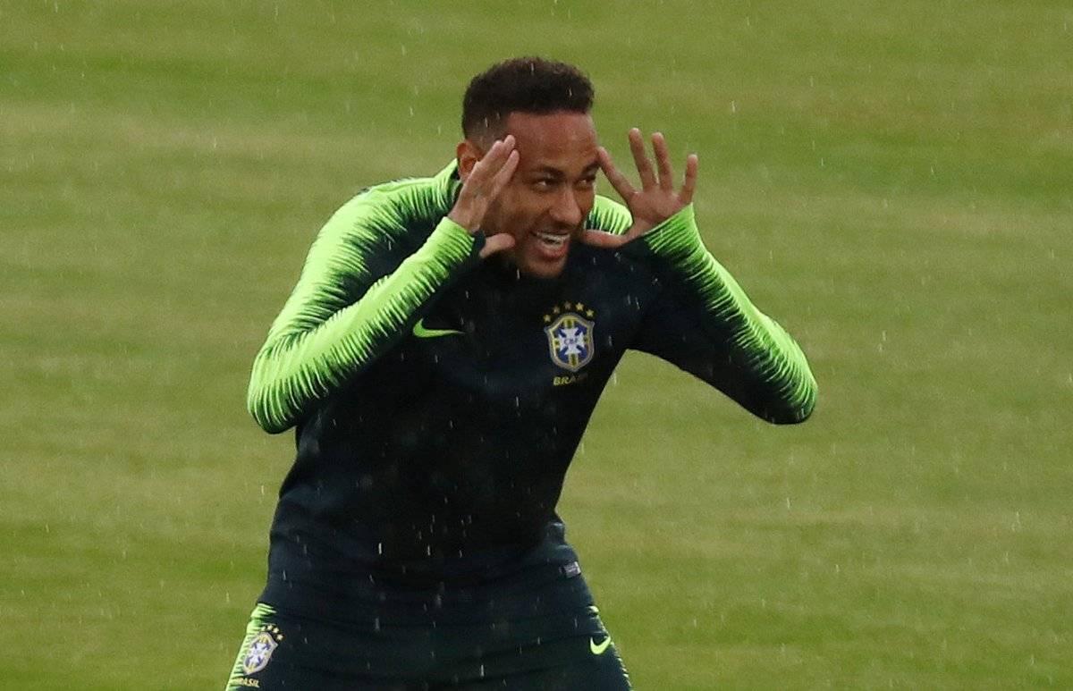 Brasil Neymar treino