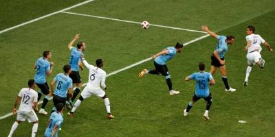Gol França Uruguai