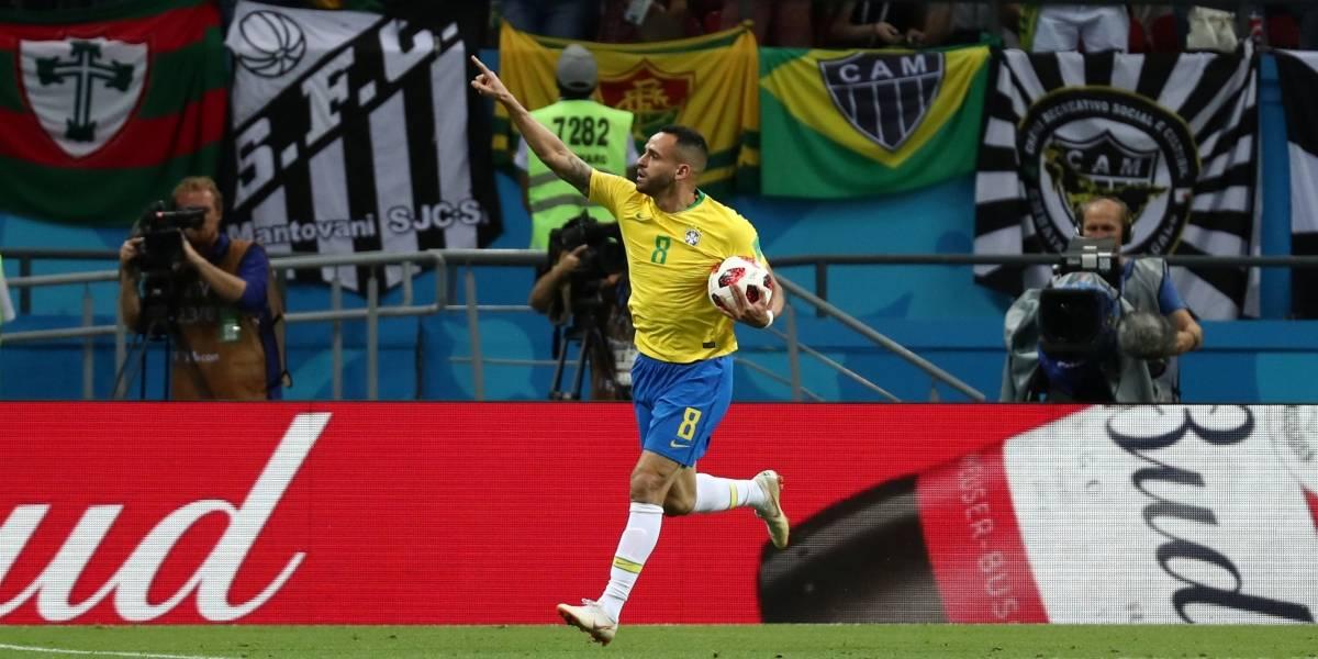 Copa do Mundo: Veja o gol do Brasil em fotos