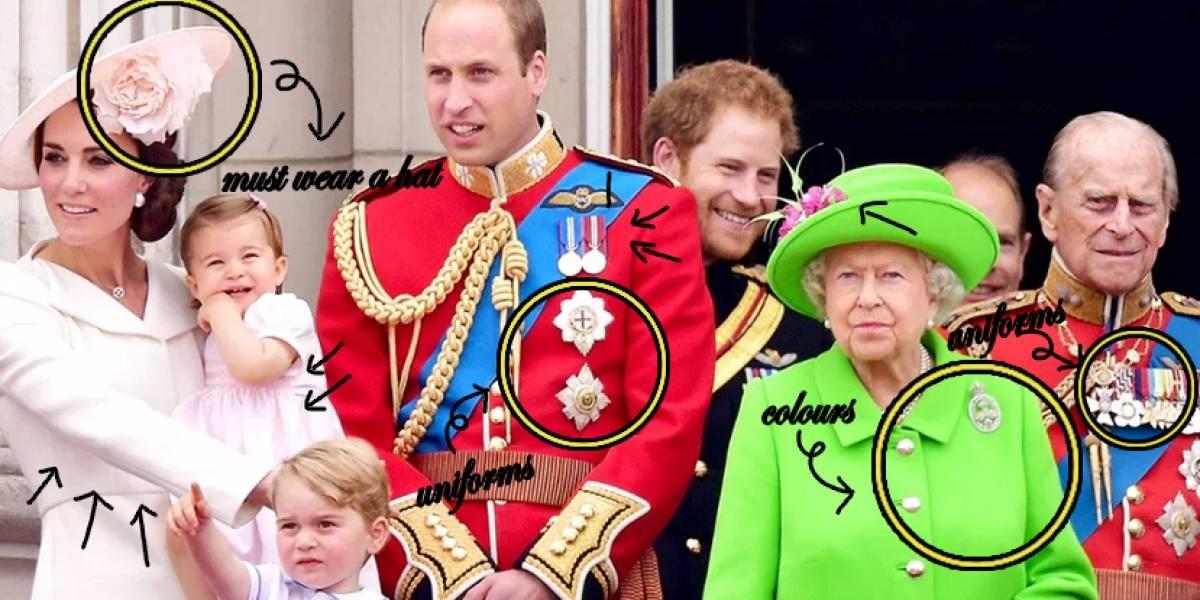 Las extrañas reglas de etiqueta que la familia real debe seguir