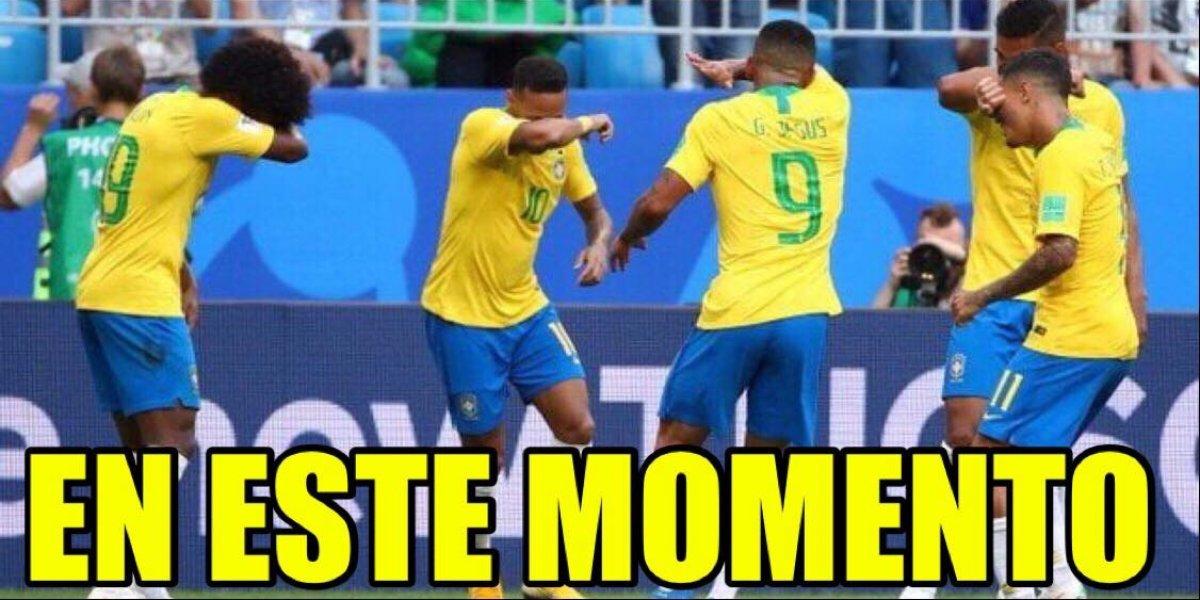 Los mejores memes de la eliminación de Brasil de Rusia 2018
