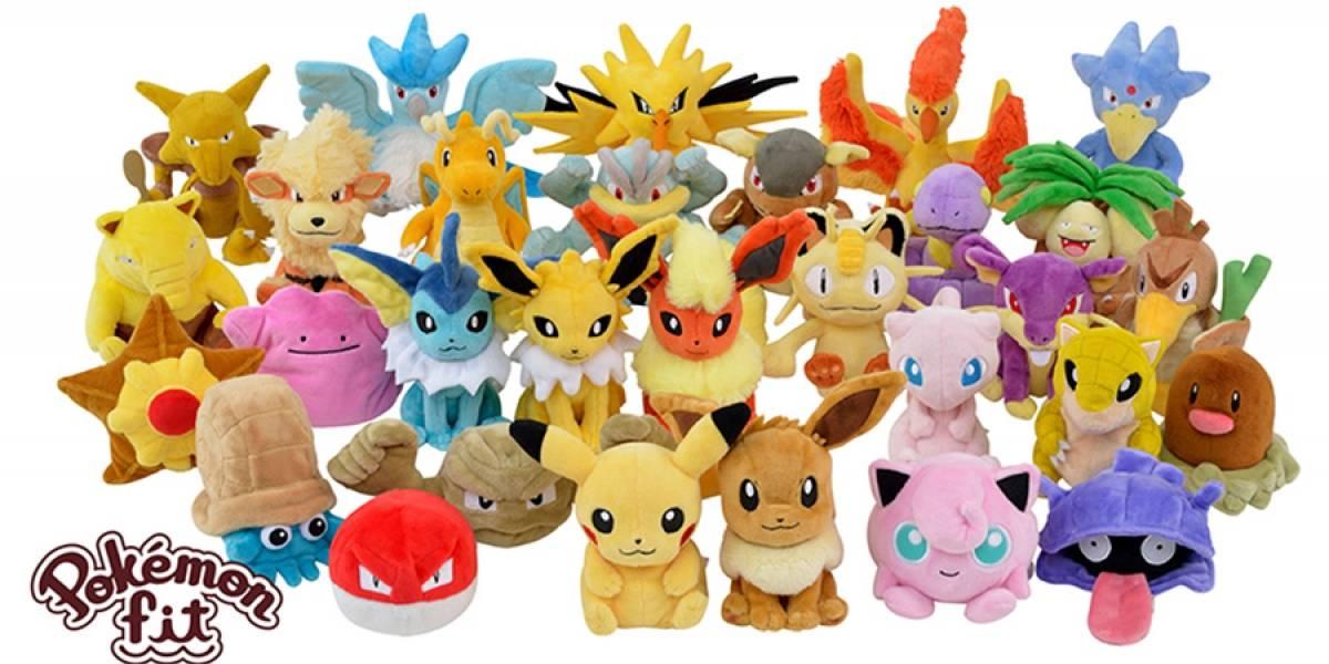 Pokémon ganha linha de pelúcia com todos os 151 monstrinhos