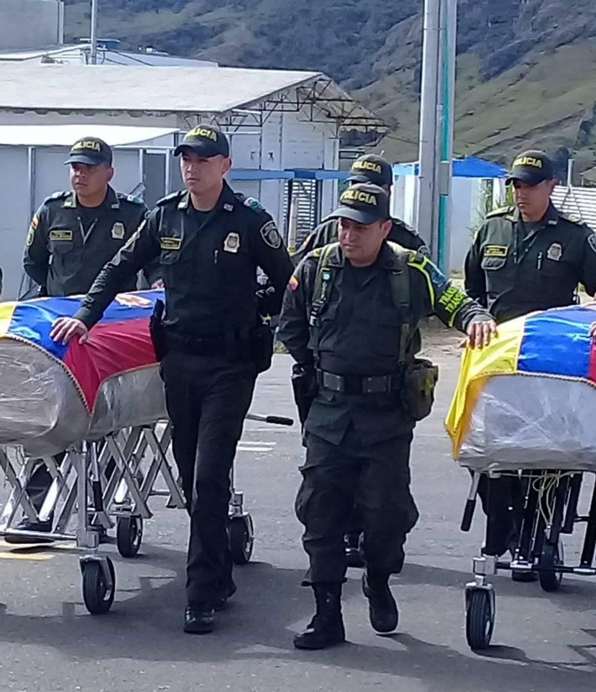 Los cuerpos de Óscar y Katty llegaron a Ecuador
