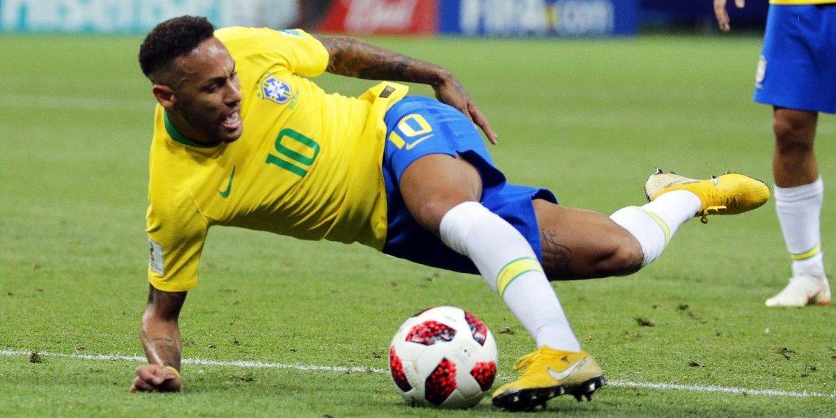 ¡Neymar Returns! Luego del teatro contra México, fingió esta contra Bélgica