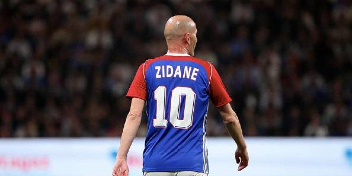 El increíble reto de Zidane a David Beckham