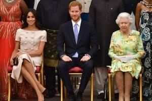 ¡En pleno evento! El príncipe Harry no quiso tomar la mano de Meghan Markle