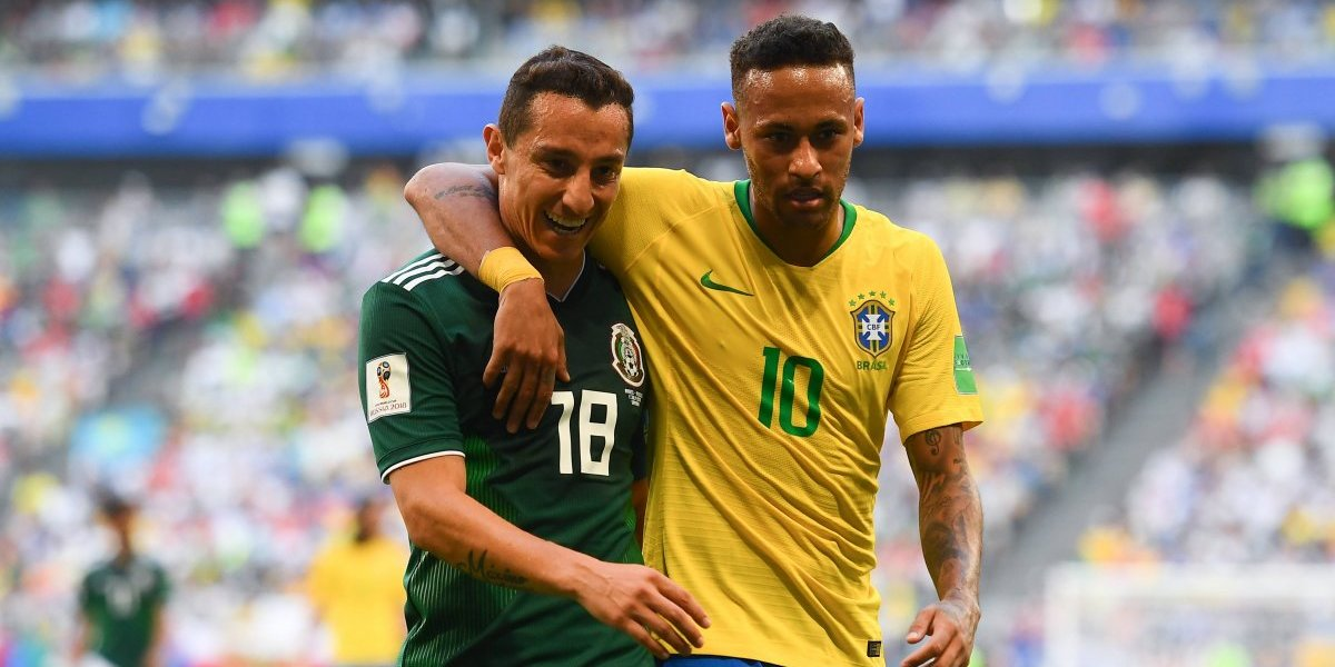 Andrés Guardado ¿se burla de Neymar y de la eliminación de Brasil?