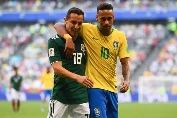 Guardado se burló de la eliminación de Brasil