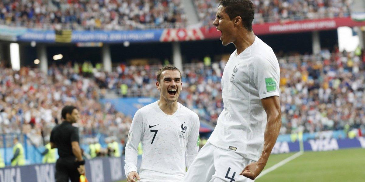 Francia avanza a semifinales tras eliminar a Uruguay