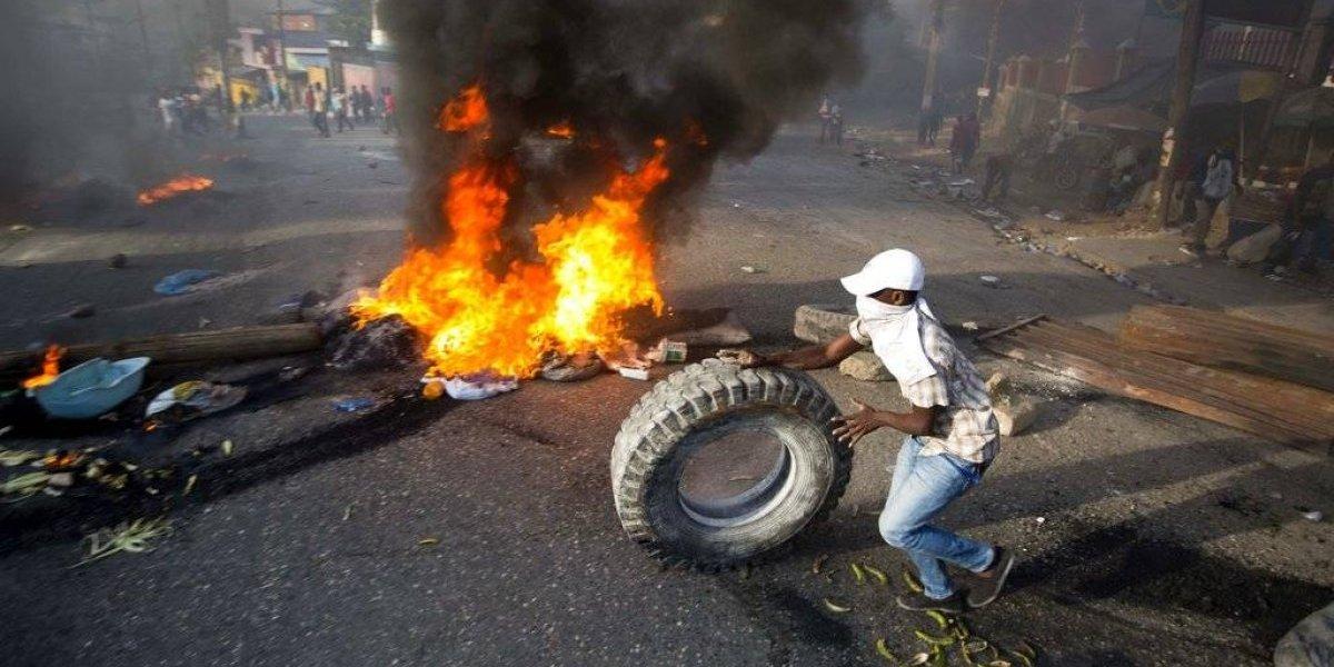Protestas mantienen paralizado a Haití