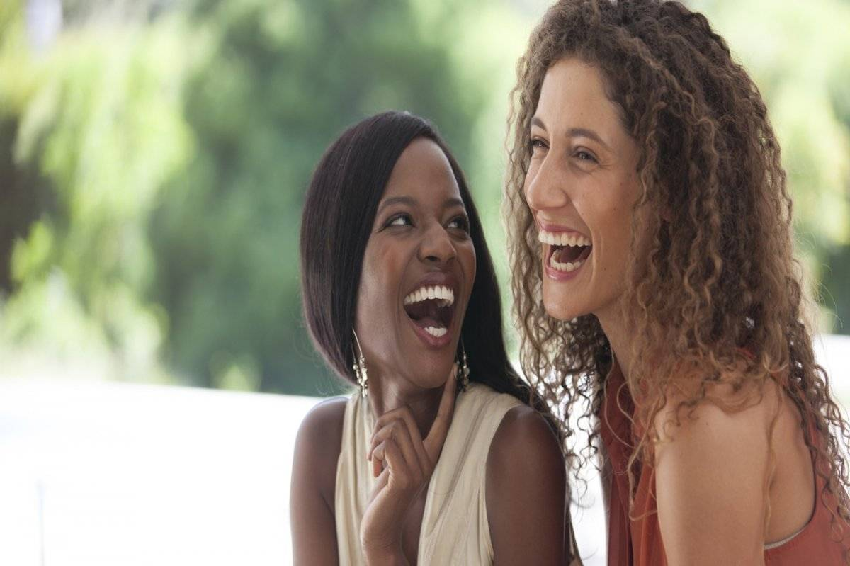 Mujeres risa