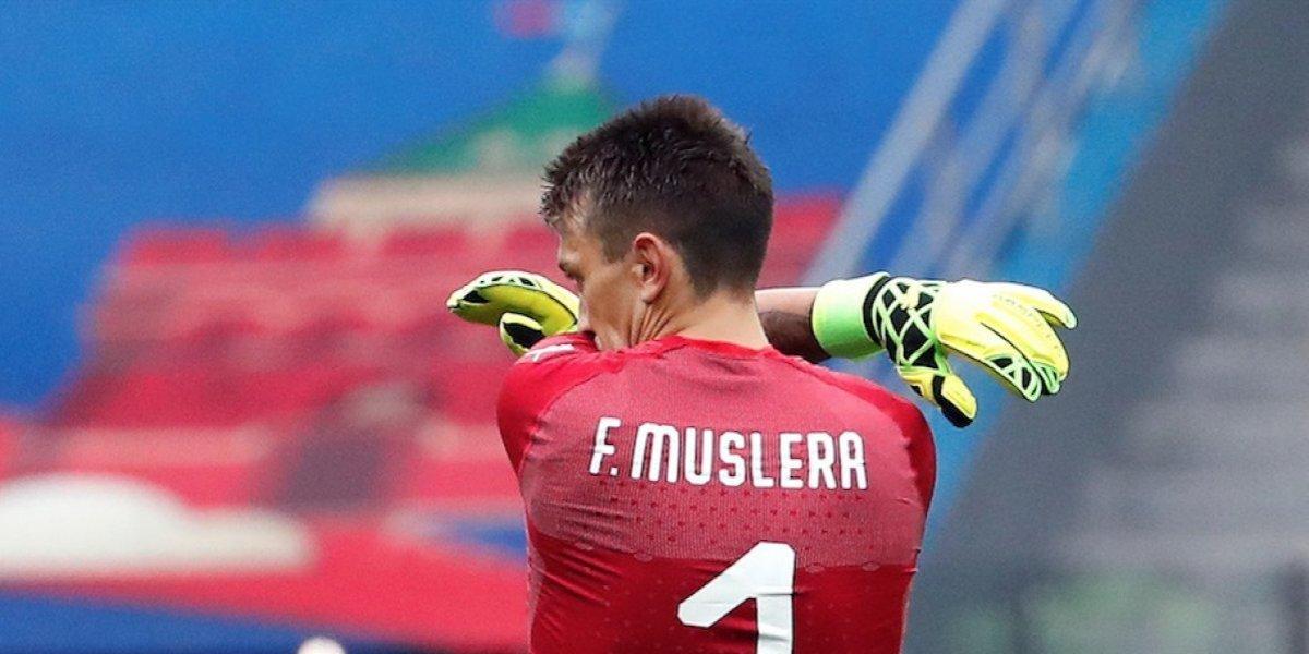 Muslera cometió un error que cuesta la eliminación uruguaya