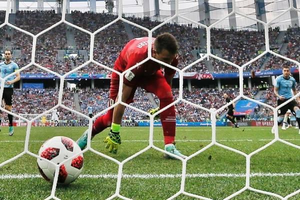 Video de los goles de Uruguay VS Francia