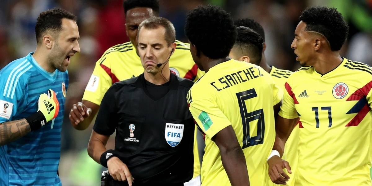 Fifa aprueba actuación del árbitro del partido Colombia vs Inglaterra