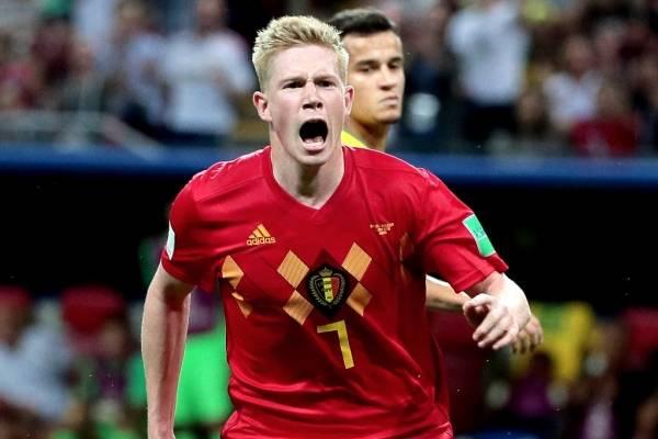 Video del gol de De Bruyne con Bélgica VS Brasil