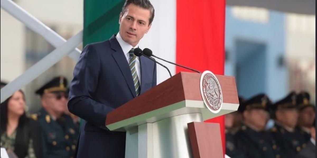Peña Nieto encabeza la ceremonia del Día del Abogado