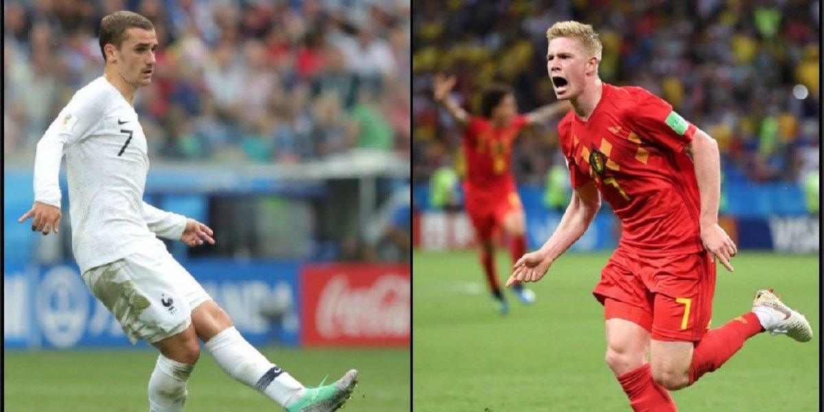 Francia vs. Bélgica, semifinal del Mundial de Rusia 2018: ¿Cuándo, dónde, a qué hora y quién transmite?