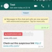 Nueva herramienta permite detectar un enlace sospechoso en WhatsApp
